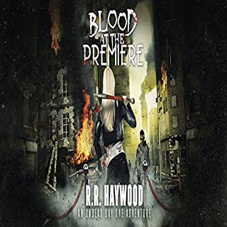 Blood at the Premiere audiobook cover art