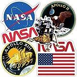 Popfunk NASA Apollo Moon Landing Collectible Stickers