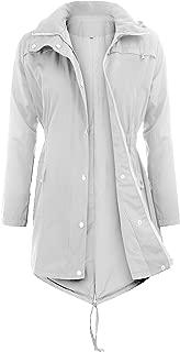 Women's Raincoats Waterproof Rain Jacket Active Outdoor Detachable Hooded Women's Trench Coats