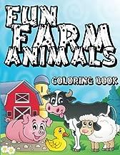Fun Farm Animals Coloring Book (Super Fun Coloring Books For Kids) (Volume 2)