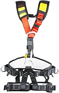 Climbing Harness, Full Body Harness, Oumers Safe Belts Guide Harness For Outward Band Expanding Training, Caving Rock Climbing Rappelling Equip, Safety Comfort, Pro Avao Bod Fast Harness ¡­