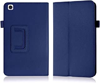 Cover Samsung Galaxy Tab 3 8 inch Back Case,Beebiz Ultra Slim Lighted PU Leather Case Cover with Stand Case for Samsung Tab 3 8 SM-T310 Protective Case,Dark Blue