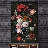 sanzangtang Leinwanddrucke Blumen in Glasvase modernes