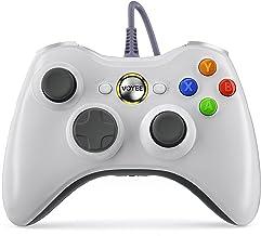 Controle Voyee de substituição para controle Xbox 360, controle com fio com joystick atualizado compatível com Microsoft X...