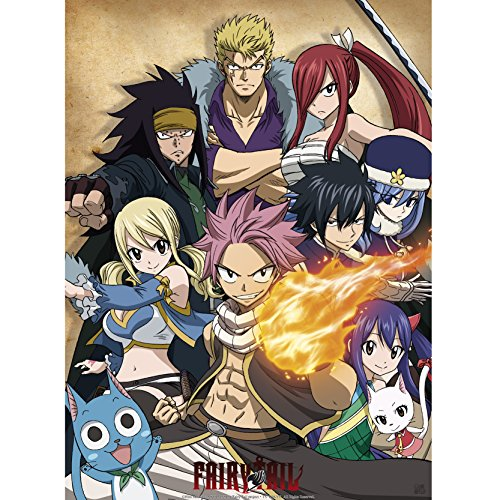 ABYstyle - Fairy Tail - Poster Guilde (52x38cm)