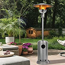 Bathonly Propane Patio Heaters Outside Heater with Wheels,Commercial Outdoor Patio Heater