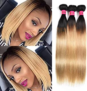 Best ombre blonde weave bob Reviews