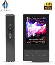 HIDIZS AP60 Ⅱ Hi Res Music Player, Bluetooth MP3 Player Portable Lossless Hi-Fi Digital Audio Player Support Aptx/FLAC/DSD/AAC with SD Card Slot (Black)