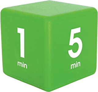 Datexx The Miracle TimeCube Timer, 1, 5, 10 and 15 Minutes, for Time Management, Kitchen Timer, Kids Timer, Workout Timer,...