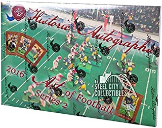 2016 Historic Autographs Art of Football Series 2 Hobby Box