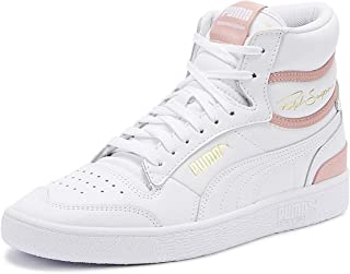 PUMA Ralph Sampson Womens White/Bridal Rose Mid Trainers