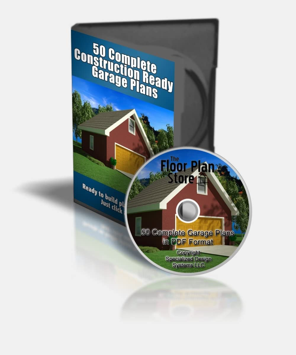 50 ! Super beauty product restock quality top! Complete Garage Plans in on CD PDF 2021