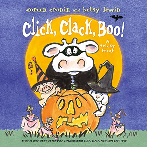 Click, Clack, Boo! audiobook cover art