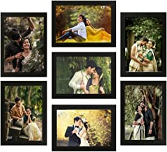 Be Friends Wall Photo Frame for Living Room, Bedroom Family Memories Wall Photo Frame   Synthetic Wood Collage Frame for H...