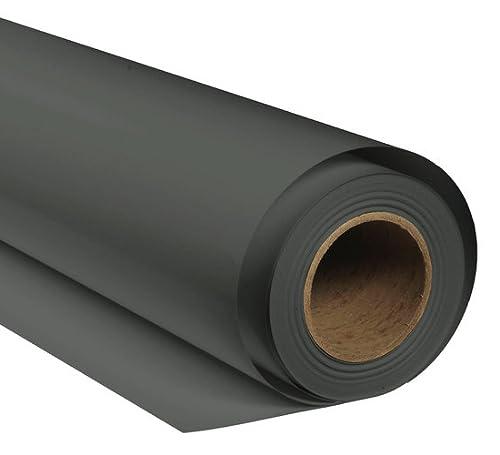 BRESSER SBP34 Papierhintergrundrolle 1,69 x 11m Donnergrau