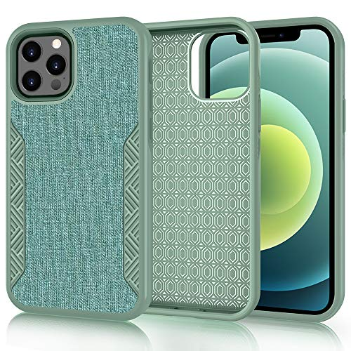 Skycase Compatible for iPhone 12 Pro Max Case,[Resist Harmful Organism] Durable Rugged Dual Layer Protection Cover with Scratch-Resistant and Shockproof for iPhone 12 Pro Max 6.7 inch 2020,Green