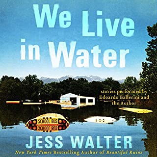 We Live in Water audiobook cover art