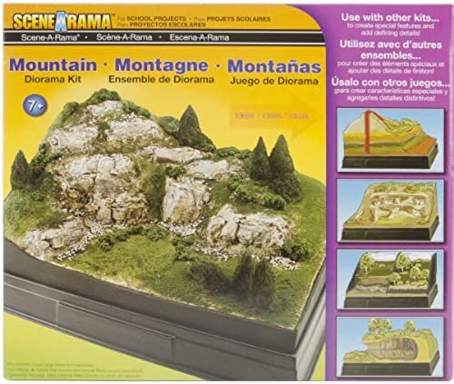 Woodland Scenics Diorama Kit, Mountain by Woodland Scenics