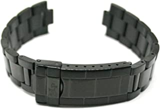 Lucien Piccard 20MM Stainless Steel Watch Strap Band Bracelet 7.5