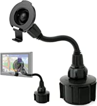 ChargerCity Car Cup Holder Bendy Mount for Garmin Nuvi 52 52LM 55 55LMT 56 56LMT 57LMT 58 67LMT 68LMT 2558 2559 2577 2589 2558 2598LMTHD 2689 2699 Drive DriveSmart 50 51 52 60 61 62 LMT LT LM GPS