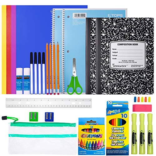School Supplies for Kids, Back to School Supply Box