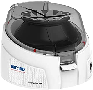 Oxford BenchMate C8-M Microcentrifuge - Small Size (6.4in X 6.2in X 4.5in), Magnetic Rotor, 8 Slot X 1.5/2.0 mL Tube Capac...