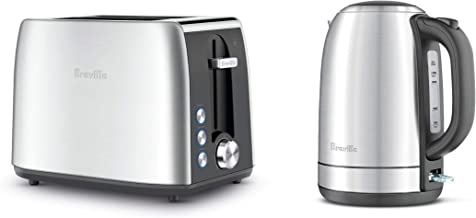 Breville The Breakfast Pack, Brushed Stainless Steel, LKT640BSS