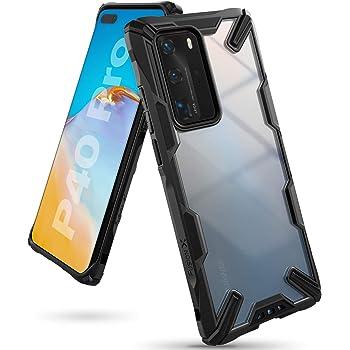 Ringke Fusion-X Diseñado para Funda Huawei P40 Pro Proteccion Absorción de Impacto Funda P40 Pro - Negro Black