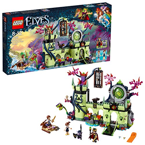 LEGO-Elves Evasione dalla Fortezza del Re dei Goblin Costruzioni Piccole Gioco Bambino, Multicolore, 804709