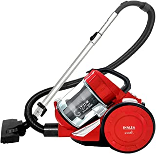 Inalsa Vacuum Cleaner 1400W Bagless - Aristo | HEPA Filter, Powerful Suction & High Energy Efficiency| 1.5 L Dust Collecto...