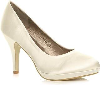 Femmes Talons Hauts Moyen soirée élégant Simple Escarpins Chaussures Pointure
