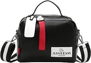 Women Bags Double zipper Solid Color Hot Sale Shoulder Crossbody Bag Handbag
