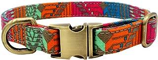 chenqiu Dog Bohemian Collar, Dog Collar Lettering Pet Collar Pet Supplies, Southwest American Aboriginal Style Collar
