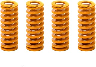 3DINNOVATIONS Yellow Mould Springs Heated Bed Compression Die Spring 8mm OD 25mm Length Compatible with Creality CR-7 CR-8...