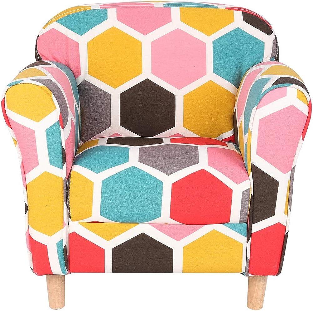 CHENQIAN Cute Colorado Springs Mall Modern Multicolor Children†Kid's Armchair Brand new