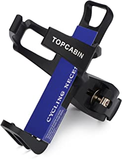 TOPCABIN Water Bottle Cages, Adjustable MTB Bicycle Water Bottle Holder Lightweight Bike Water Bottle Cages Brackets with Two Clamping Solutions