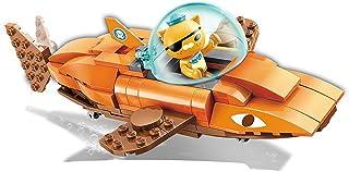 オクトノーツタコ啓発潜水艦小柱シリーズイタチザメボート組立モデル子供用建物おもちゃギフト