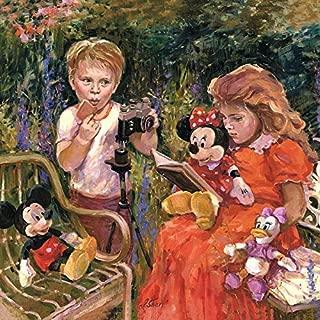 Irene Sheri Reading to Minnie Disney Art
