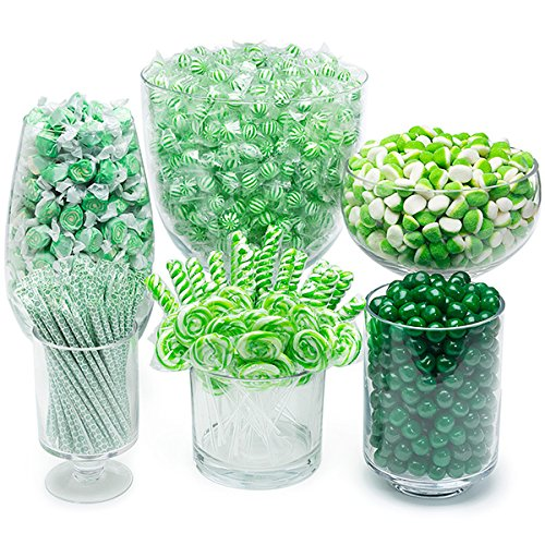Green Candy Kit - Party Candy Buffet Table