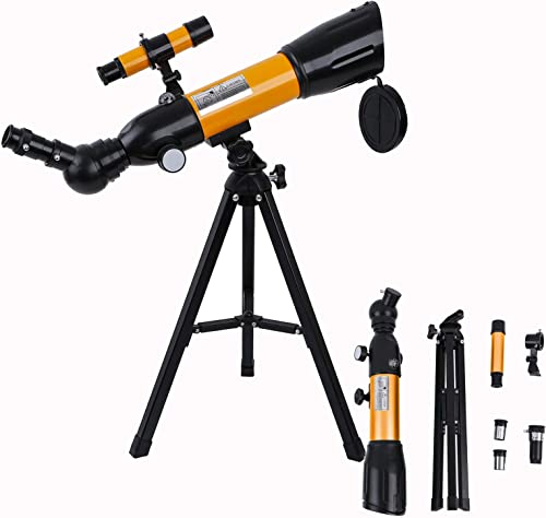 high quality Telescopes for Astronomy online sale Beginners, 50mm Aperture 150X Magnification Telescopes, Astronomical Refracting Telescope for Kids, Monocular Lunar high quality Observation Telescope Monocular with Adjustable Tripod online