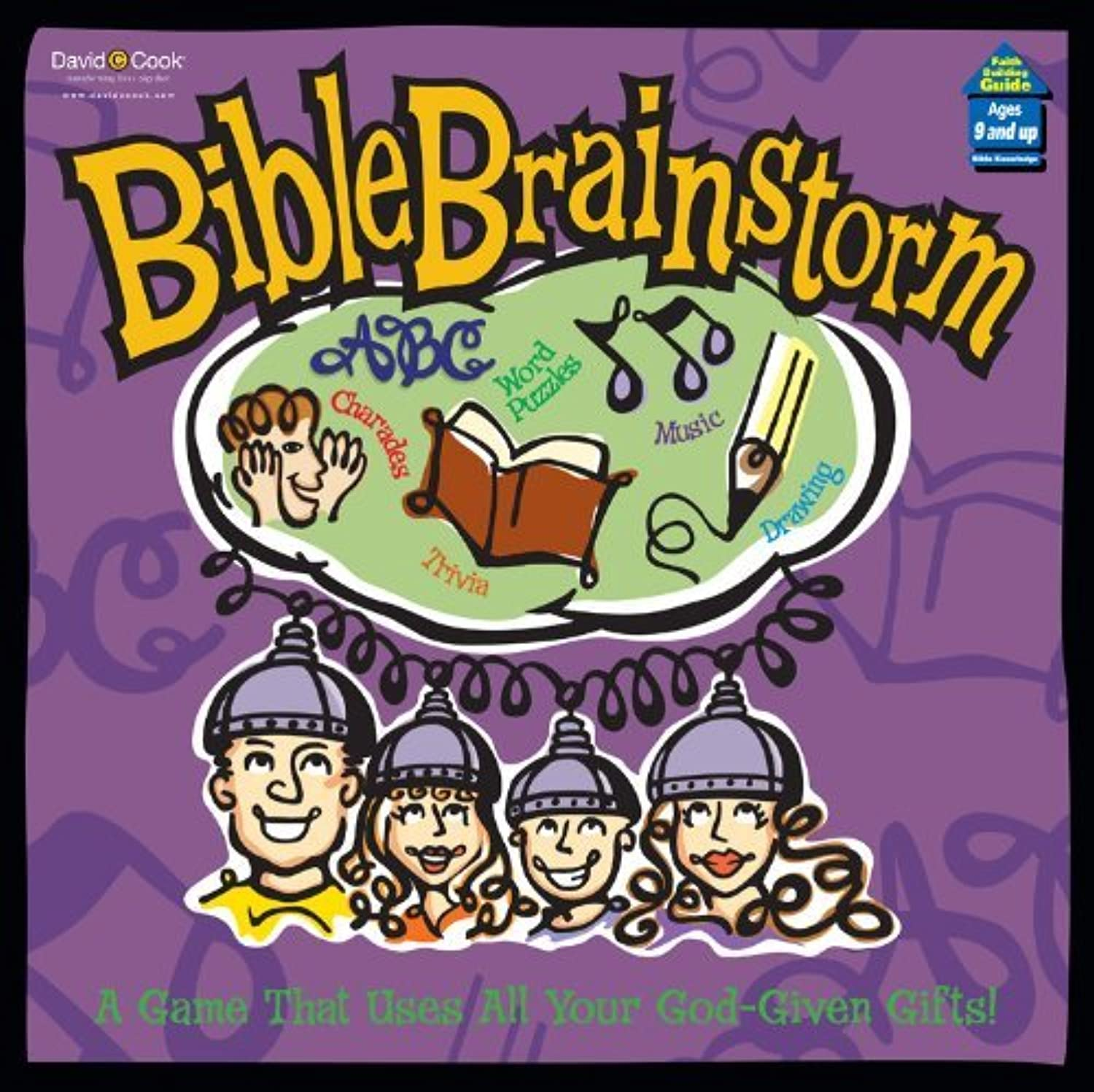 Bible Brainstorm. A Game That Uses All Your God-Given Gifts (2001) by Cook Communications