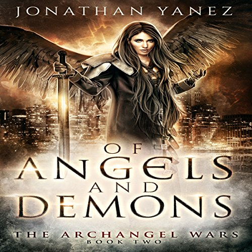 Of Angels and Demons audiobook cover art