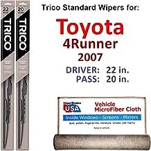Best 2007 toyota 4runner wiper blades Reviews
