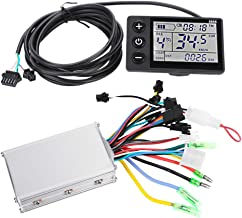 VGEBY Motor Brushless Controller, Waterproof LCD Display Panel and Ebike Scooter Brushless Motor Speed Controller Kit