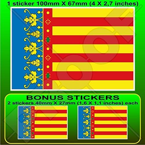 Vinyl Bumper Aufkleber Aufkleber X1/+ 2/Bonus 100/mm Tschechische Republik Flagge Ceska 10,2/cm