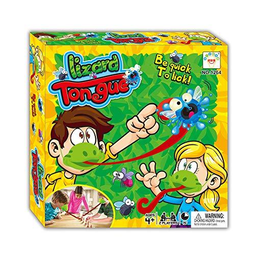Herbests Tic Tac Tongue Fang Bugs Spiel,Lustiges Familienspiel Interaktives Spielzeug, Desktop-Spiel Brettspiel Eidechsenzunge Essen Pest Spiel Neuartiges Spielzeug Geschenk für Kinder Erwachsene