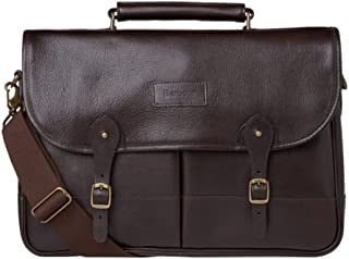 Leather Briefcase - Chocolate