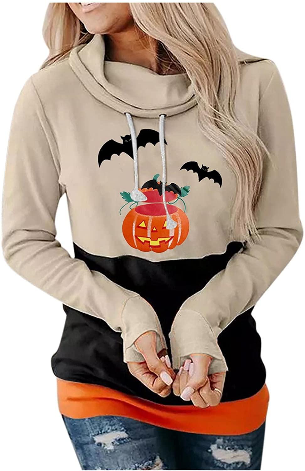 Hessimy Hoodies for Women with Designs,Hoodies for Women Casual Zip Up Long Sleeve Top with Pockets Trendy Fall Stripe Blouse Loose Fit Pullover Sweatshirt Plain Hoodies
