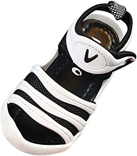 447f6f56c44a1 POIUDE Bébé Fille Garçons Été Sandales Bout Ouvert Anti-DéRapant Doux  Unique Enfants Sneaker 1