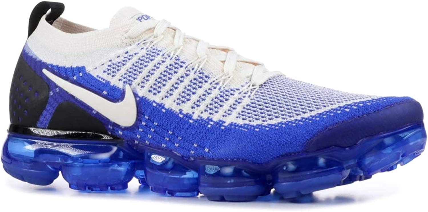 NIKE Men's Air Vapormax Flyknit 2 Running Shoes (10.5, Cream/Blue) Cream/Blue) Cream/Blue) B07GJ1QJBL  cd797d